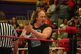 Robert Gibson (wrestler) - Gibson in 2013