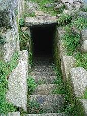 Escaleras del lado oeste