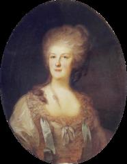 Portrait of Daria Dmitriev Manova.