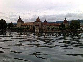 Rolle Place in Vaud, Switzerland