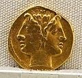 Roma, repubblica, statere in oro del giuramento, post 269 ac 01.JPG