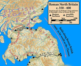 Great Conspiracy - Northern Roman Britain, c. 350–400 AD.