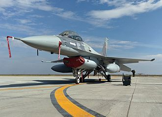 Romanian Air Force - Romanian F-16 at the 86th Fetesti Air Force Base