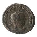 Romerskt bronsmynt med Valerianus I, 255-256 - Skoklosters slott - 100195.tif