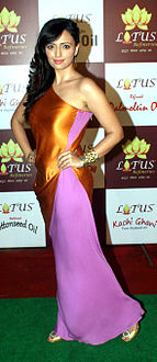 Roshini Chopra at the launch of Lotus Refineries.