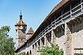 Rothenburg ob der Tauber, Stadtbefestigung, Stadtmauer Klingenschütt, Klingentorturm 20170526 002.jpg