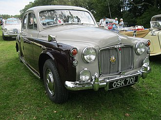 Rover P4 - Rover 110 registered October 1962