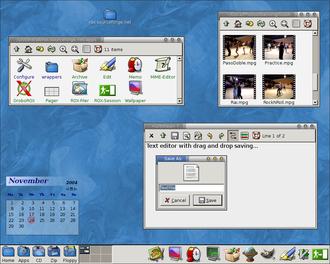 ROX Desktop - Image: Rox desktop 2004