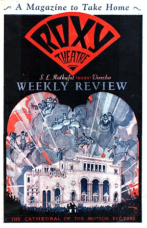 Roxy Theatre (New York City) - Roxy Theatre Weekly Review, March 10, 1928