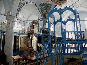 Abuhav synagogue - Interior of Abuhav synagogue