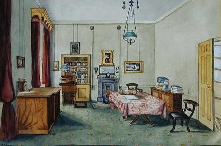 Royal Institution - Michael Faraday's study