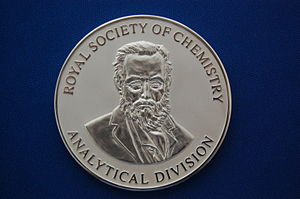 Theophilus Redwood - Theophilus Redwood Award medal (2014)