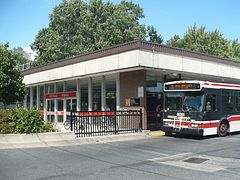 Royal York TTC and 76 bus.JPG