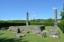 Ruines Gallo-romaine d'Izernore.JPG