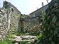 Ruiny domu uvnitr pevnosti v Himare1.jpg