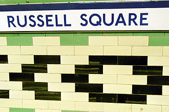 Leslie Green - One of the variety of platform tiling patterns designed by Green