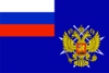 Russia, Flag of the State committee on communication and informations, 1998.png