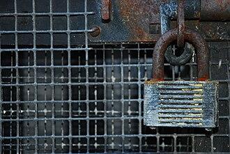 Padlock - Rusty padlock