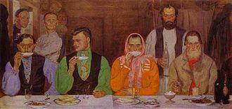 Andrei Ryabushkin - Tea-drinking