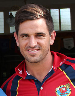 Ryan ten Doeschate Netherlands cricketer