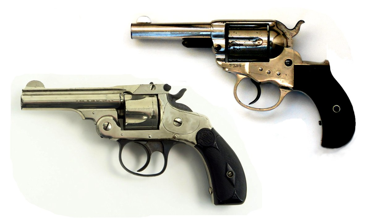 Smith & Wesson Double Action Kipplauf-Revolver – Wikipedia