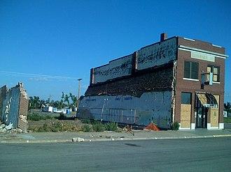 Greensburg, Kansas - Image: S.D. Robinett Building