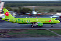 VQ-BDE - A320 - S7 Airlines