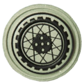 SANDF Qualification Motorcyclists Instructor badge embossed.png