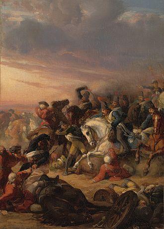Battle of Castricum - Anno 1799, De slag bij Castricum by Jan Antoon Neuhuys (Amsterdam Museum)