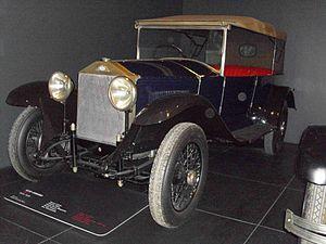 SCAT (automobile) - 1926 SCAT-Ceirano