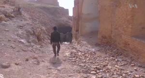 Qal'at Ja'bar - Image: SDF at Jabar Castle 3
