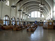 central station, union station, San Diego Downtown, Spanish mission design