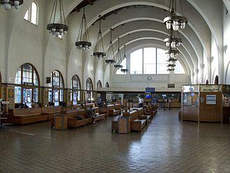 Santa Fe Depot (San Diego) - Inner architecture of Santa Fe