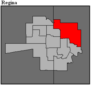 Regina Northeast - Image: SK 2016 Regina Northeast