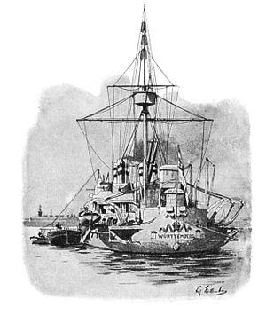 SMS Württemberg (1878) - SMS Württemberg