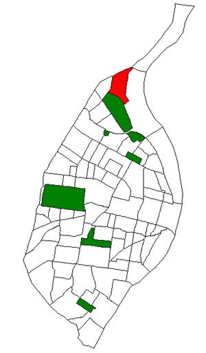 Baden, St. Louis - Image: STL Neighborhood Map 74