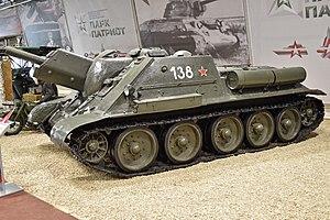 SU-122 - SU-122 in Kubinka Tank Museum