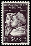 Saar 1951 308 Johannes Calvin, Martin Luther.jpg