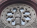 Sacred Heart Church. Rose window. - Budapest District VIII.JPG