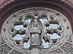Sacred Heart Church. Rose window. - Budapest District VIII.JPG