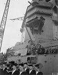 Sailors and 4.7-inch AA gun on HMS Rodney 1940 IWM A 99.jpg