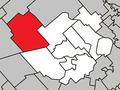 Saint-Calixte Quebec location diagram.png