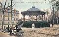 Saint-Chamond, jardin public, kiosque, école pratique, carte postale colorisée.jpg