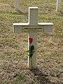 Saint-Rémy-la-Calonne (Meuse) nécropole nationale (12) tombe d'Alain-Fournier.JPG
