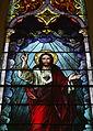 Saint Augustine Catholic Church (Lebanon, KY) - stained glass, Sacred Heart of Jesus, detail.jpg