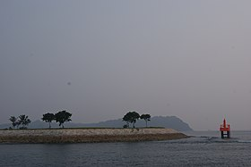 Saint John's Island, Singapore, on a hazy day - 20140921-04.JPG