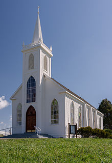 Saint Teresa of Avila Church (Bodega, California) Roman Catholic church in Bodega, California