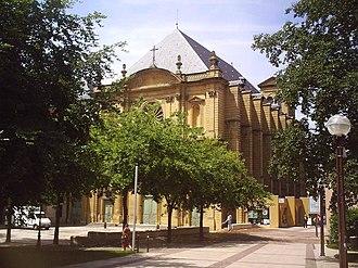 Clément of Metz - Abbey of Saint Clement in Metz.