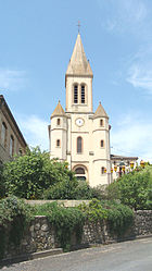 The church in Salvagnac