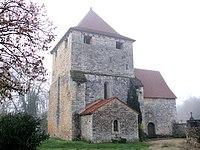 Salviac - Église Saint-Denis de Luziers -1.JPG